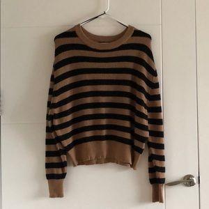 Zara brown knit sweater